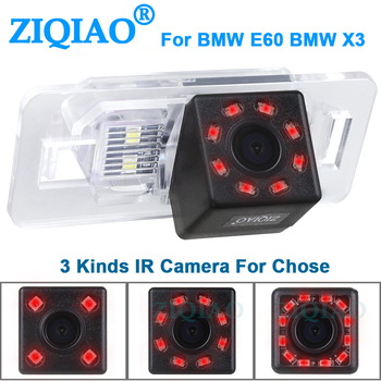 ZIQIAO for BMW 1 Series E82 3 Series E90 E91 5 Series E39 X1 X3 X6 HD Backup Parking Monitor IR Rear View Camera HS023C image
