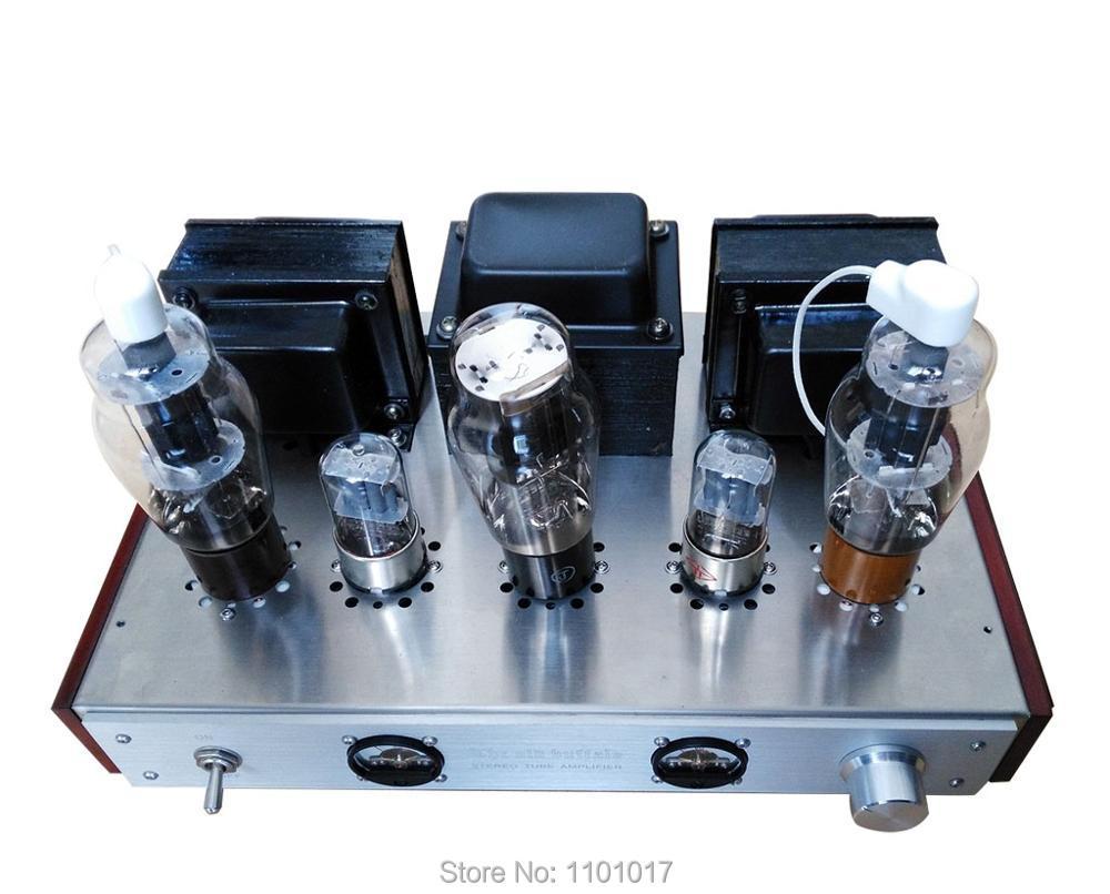 OldBuffalo FU7 807 Tube Amplifier HIFI EXQUIS Class A handmade Fu 7 lamp amp luxury version