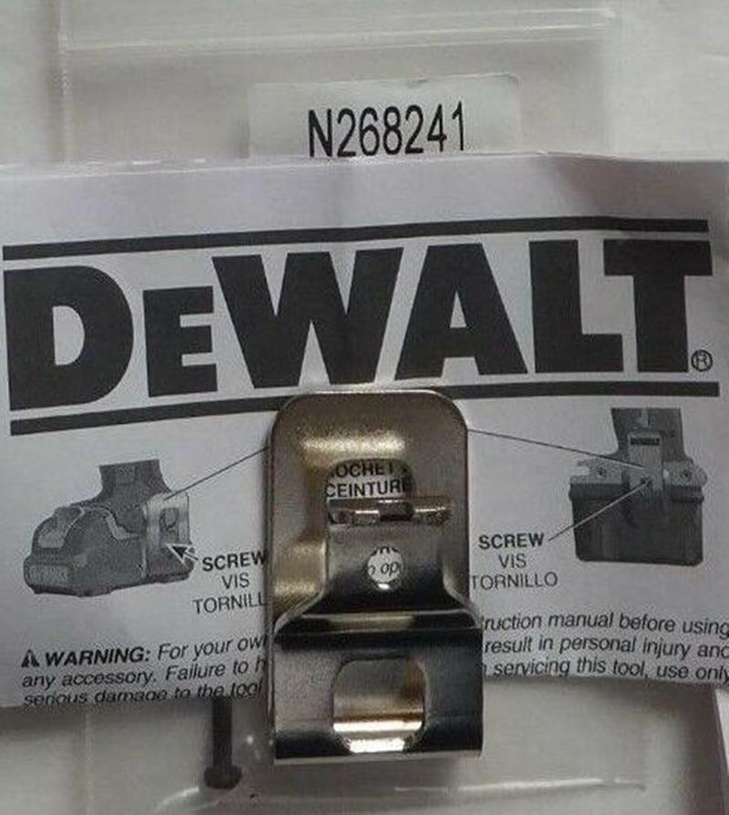 DeWALT Belt Hook For N086039 N268241 N169778 DCD790D2 DCF887B DCF880HB DCF885B DCF895D2 DCF880L2 DCF886M2 DCD771 DCD791 DCF883