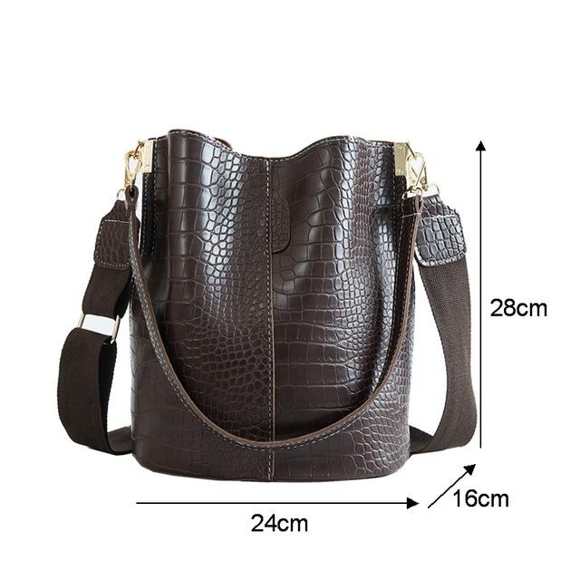 Crocodile Crossbody Bag