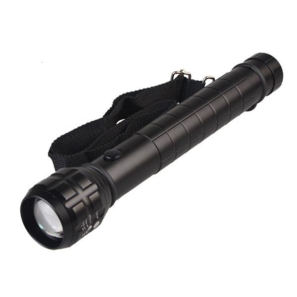 TMWT Heavy Duty Big Torch Light XP-E Q5 LED Photo Lamp D Size Battery Metal Reflector Zoom Lantern Flashlight Torch
