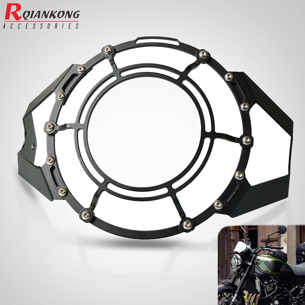 z900rs <font><b>2017</b></font>-2020 Motorcycle Headlight Protector Cover Grill Head Lamp Guard Protection FOR <font><b>Kawasaki</b></font> <font><b>Z</b></font> <font><b>900</b></font> RS <font><b>2017</b></font> 2018 2019 2020 image
