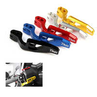 Motorcycle Accessories CNC Aluminum alloy Parking Brake lever For YAMAHA TMAX 500 2008-2011 T-MAX 530 T MAX 530 XP500 XP530