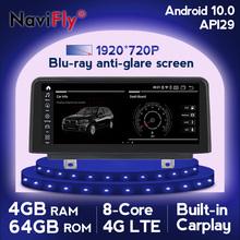 Qualcomm z systemem Android 10 Carplay 8 rdzeń samochodowy Multimedia radiowe odtwarzacz GPS dla BMW F30 F31 F34 F20 F21 F32 F33 F36 niebieski-anti-glare ekranu tanie tanio navifly CN (pochodzenie) podwójne złącze DIN 10 25 4*45w DVD-R RW DVD-RAM VIDEO CD JPEG plastic screen Hardware 1920*720