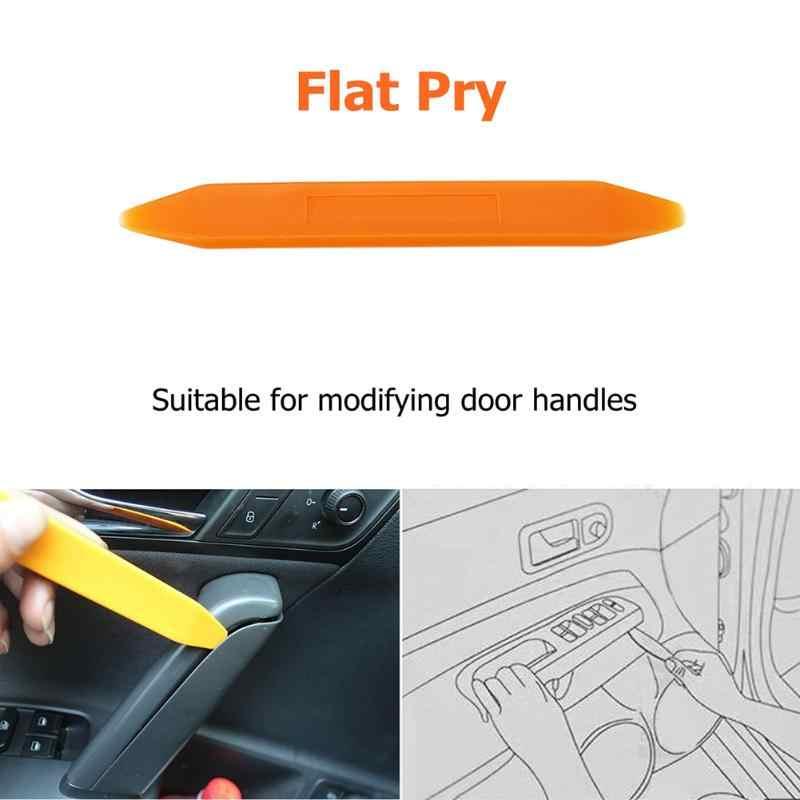 Herramienta de eliminación de recorte de Audio de Panel de coche con Clip de puerta de Audio para automóvil de textura práctica portátil