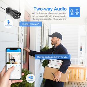 Image 3 - Techege 8CH 5MP POE AI CCTV Security Camera System Kit Face Detection Two Way Audio Outdoor Video Surveillance Camera Kits P2P