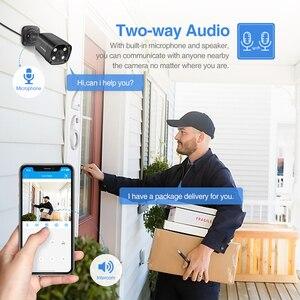 Image 3 - Techege 8CH 5MP POE AI système de caméra de sécurité CCTV Kit de détection de visage deux voies Audio caméra de Surveillance vidéo extérieure Kits P2P