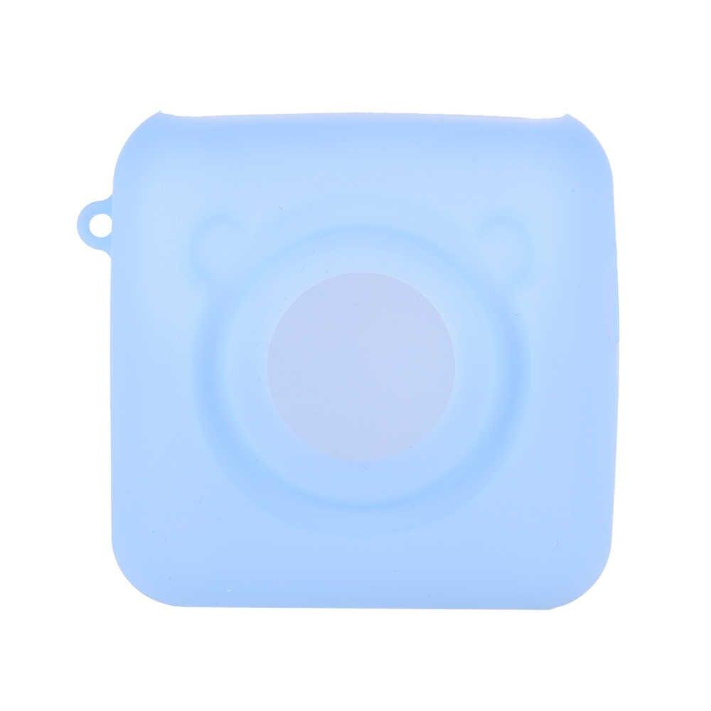 PeriPage A6 الحرارية طابعة غطاء من السيليكون مع حزام مكافحة الغبار المضادة للصدمة المضادة للخدش حماية حالة