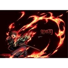Kamado Tanjirou Poster Fan Gift 42*30CM Demon Slayer