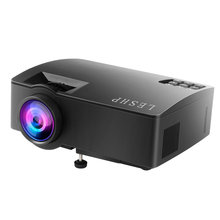 цена на LESHP Mini Portable LED Projector 408P HD Home Cinema Theater Beamer Projector Multimedia WIFI Projector for Home Use