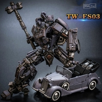 Transformation Toyworld TW FS03 World War II Big Bee Alloy Old Painting SS Scale Collection Action Figure Robot Toys Car Model