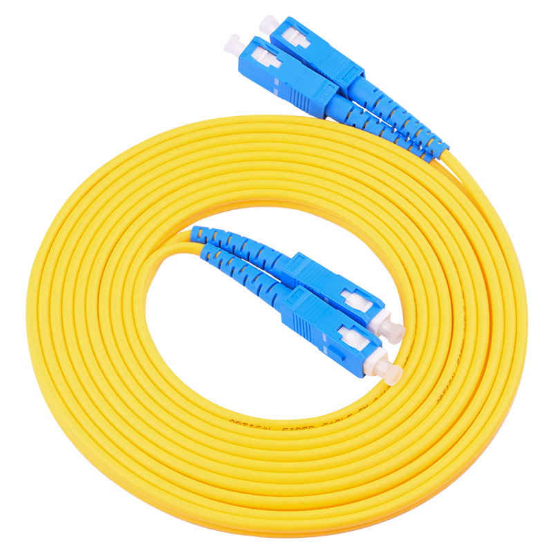10-50 Meters SC/UPC To SC/UPCSinglemode Duplex Optical Fiber Patch Cord Cable