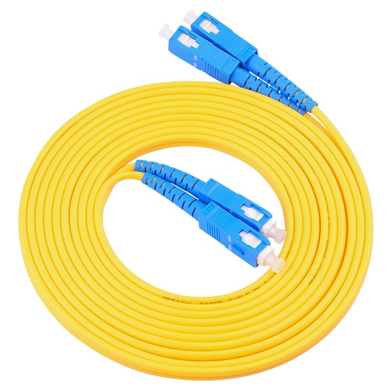 10-50 Meters SC/UPC To SC/UPCSinglemode Duplex Optical Fiber Patch Cord Cable