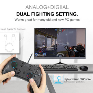 Image 4 - Game  Controller For Switch Console with 6 Axis  Wireless Bluetooth Gamepad For Nintendo Switch Pro Controller NS Switch