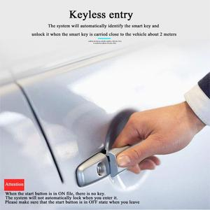 Image 3 - 12V Car Alarm Passive PKE Keyless Entry Remote Start Stop Engine System Central Locking Car Engine Start Stop Button Automotive