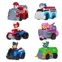 Paw Patrol – véhicule Robot chien déformé en PVC, jouet figurines d'action, divertissement, cadeau de noël pour enfants, nouveau Style