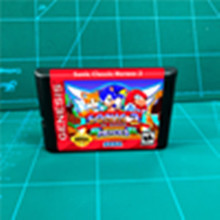 Soniced Classic Heroes 2   16 bit MD Games Cartridge For MegaDrive Genesis console