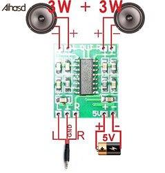Цифровая плата усилителя мощности PAM8403, 2*3 Вт, класс D, 2,5 в до 5 В, эффективная Плата усилителя мощности