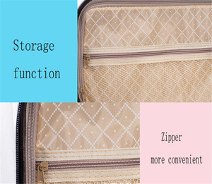 Image 4 - HUACAN New 132 Bottles Diamond Painting Storage Box Tool Diamond Embroidery Accessories Hand Bag Zipper Container