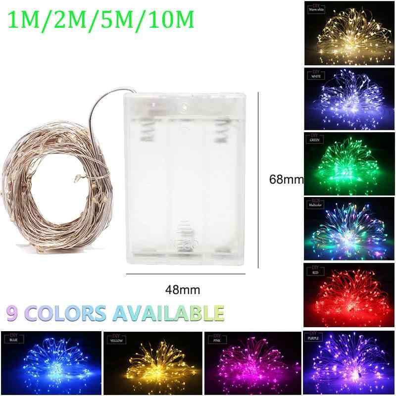 10M 5M 2M girlanda żarówkowa led lampki na zewnątrz girlandy 5V łańcuchy świetlne led USB do dekoracji wesele strona główna