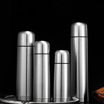 Термос (Jore Fitool/350-1000 мл) из нержавеющей стали с кнопкой-клапаном