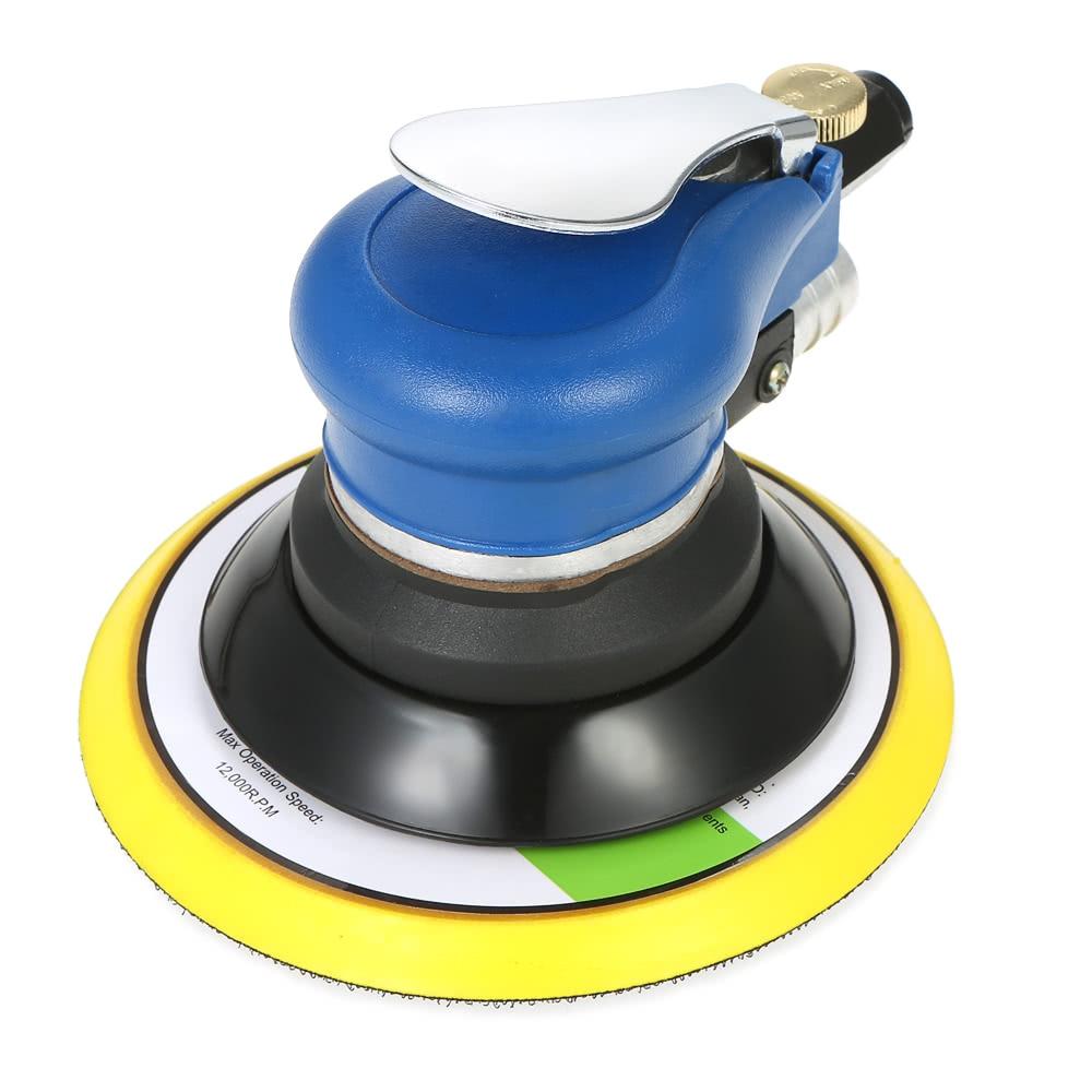 Sander Machine Inches 6 WENXING Tools Vacuum With Pneumatic Air Pneumatic Air Sander 150mm Sanding 6inch