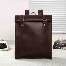 A New Type of Shoulder Bag Retro College Korean Edition Chao Students Backpack for Men and Women