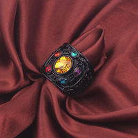 Infinity Ring Black Color 4