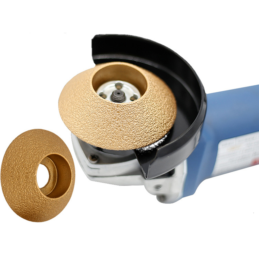 Diamond Angle Grinder Stone Grinding Wheel 45 Degree Bevel Edge Marble Plate Disc Ceramic Grinding Wheel Saw Rotary Tool N30