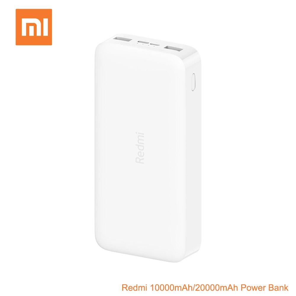 Xiao mi power Bank Red mi 10000 мАч/20000 мАч 18 Вт QC3.0 Быстрая зарядка для iOS мобильный телефон Android телефон зарядное устройство mi power bank