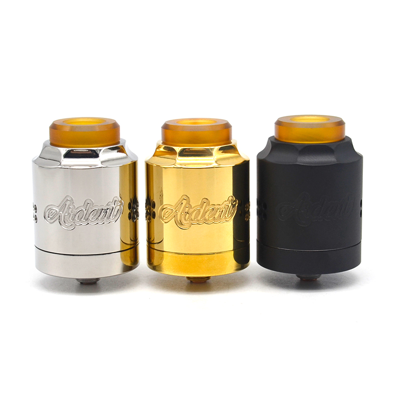 Timesvape Ardent 27mm Rda Smooth Honeycomb Side Atomizer For Vape Mod