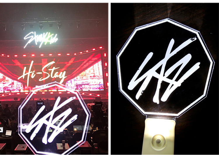 Kpop LED Stray Kids Light Stick Lamp Support Concert Lightstick Night Light Stick For Fans Gift Collection