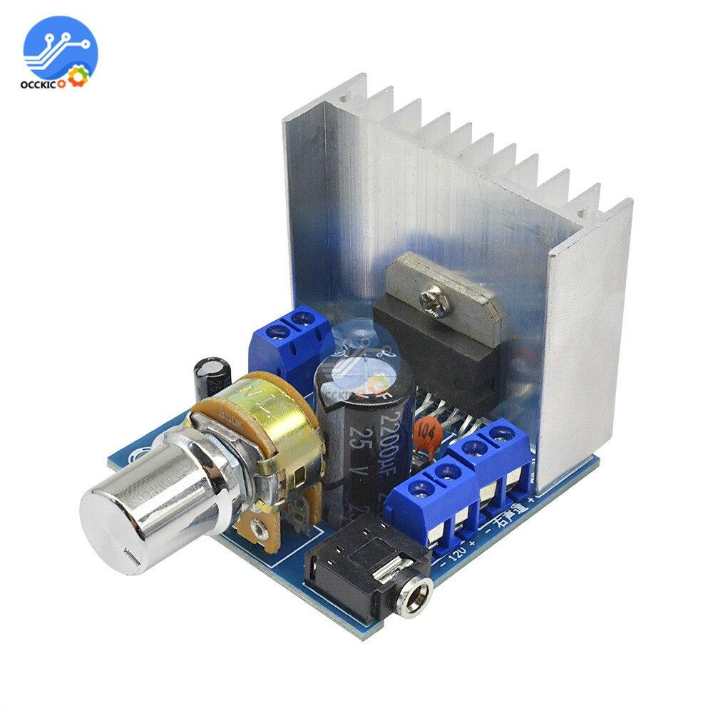 TDA7297 Amplifier Board Version B Speaker DC 9-15V 15W*2 Digital Audio Power Amplifier Module Stereo Dual Channel Amplificateur