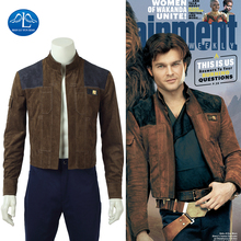 Manluyunxiao Solo Cosplay Carnival Halloween Costume For Kid Men A Star Wars Story Han Masquerade Outfit Jacket Custom Made