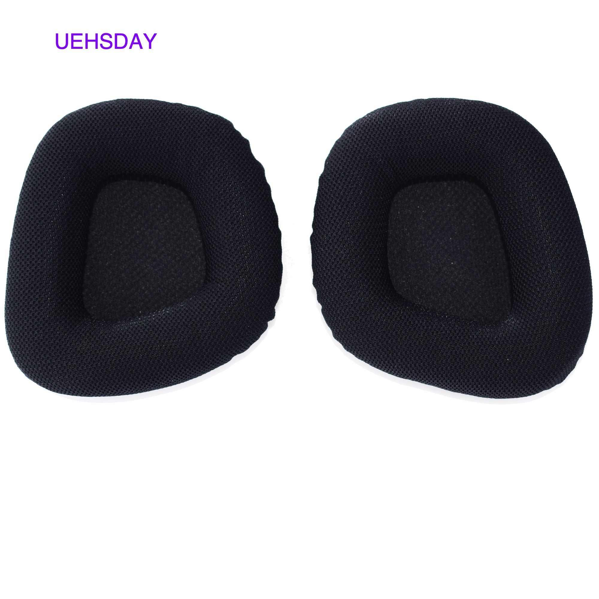 Wkładki do uszu poduszki na uszy wymienny element słuchawek do Corsair VOID PRO RGB USB słuchawki gamingowe miękka pianka nauszniki skrzynki pokrywa