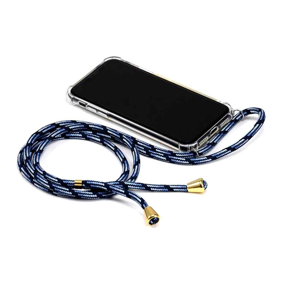 شاومي مي ريدمي K20 K20 برو 8 8A نوت 7 8 شنق الحبل سلسلة الهاتف قلادة حبال شفافة قضية الهاتف