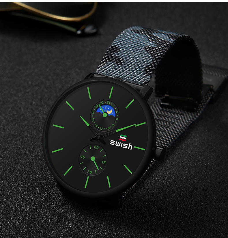 Ha13dc4ea14b84c8c8f95198800d19efeF SWISH Watches Men 2019 Mens Watches