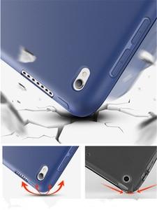 Новый мягкий силиконовый чехол-накладка из ПУ кожи для Apple ipad air 3 10,5 2019 pro 10,5 2017, Тонкий Магнитный умный чехол с рукавом + пленка + стилус