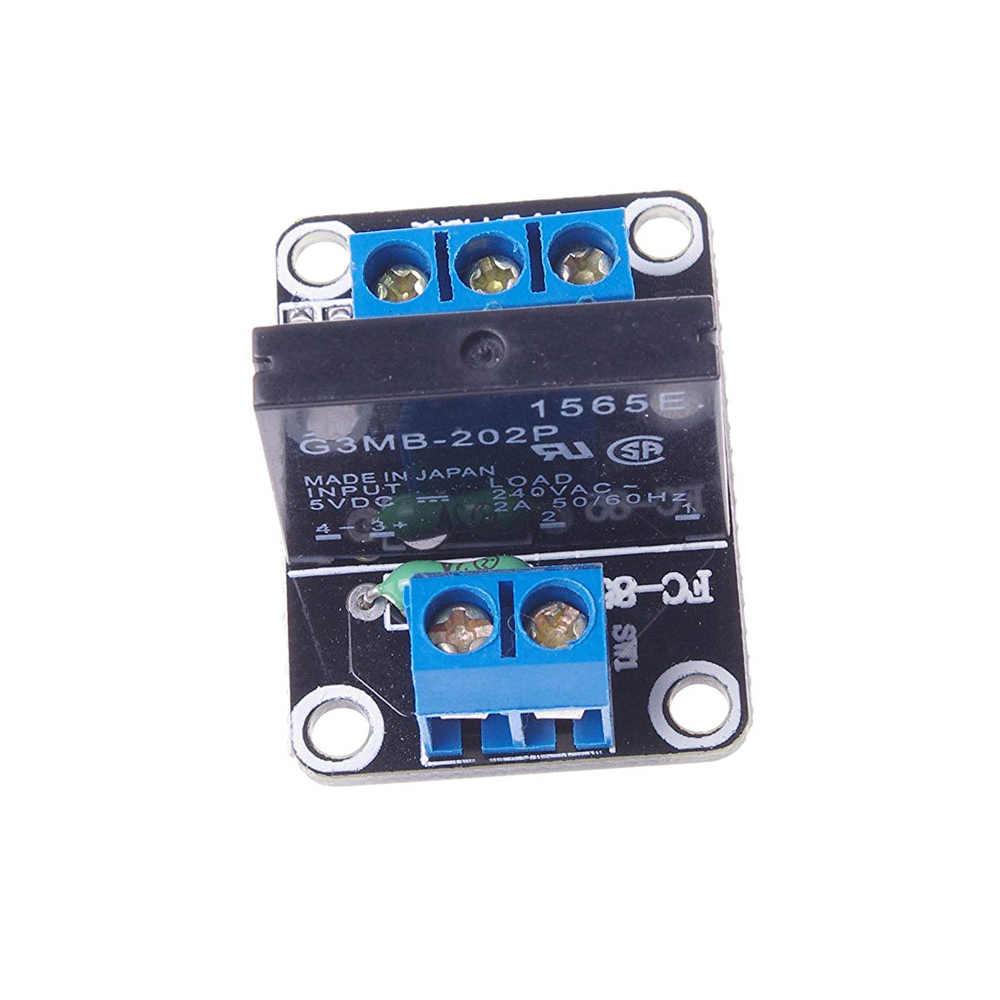 1 G3MB-202P DC-AC Effen Status Relais Kanaal SSR PCB 5VDC Buiten 240 V AC 2A voor arduino diy kit