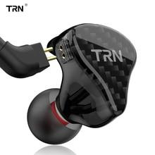 TRN auriculares internos H2 con unidad dinámica, Auriculares deportivos para correr, graves, auricular de alta fidelidad, desmontable, Cable de 2 pines, X6 V80 V90 V3