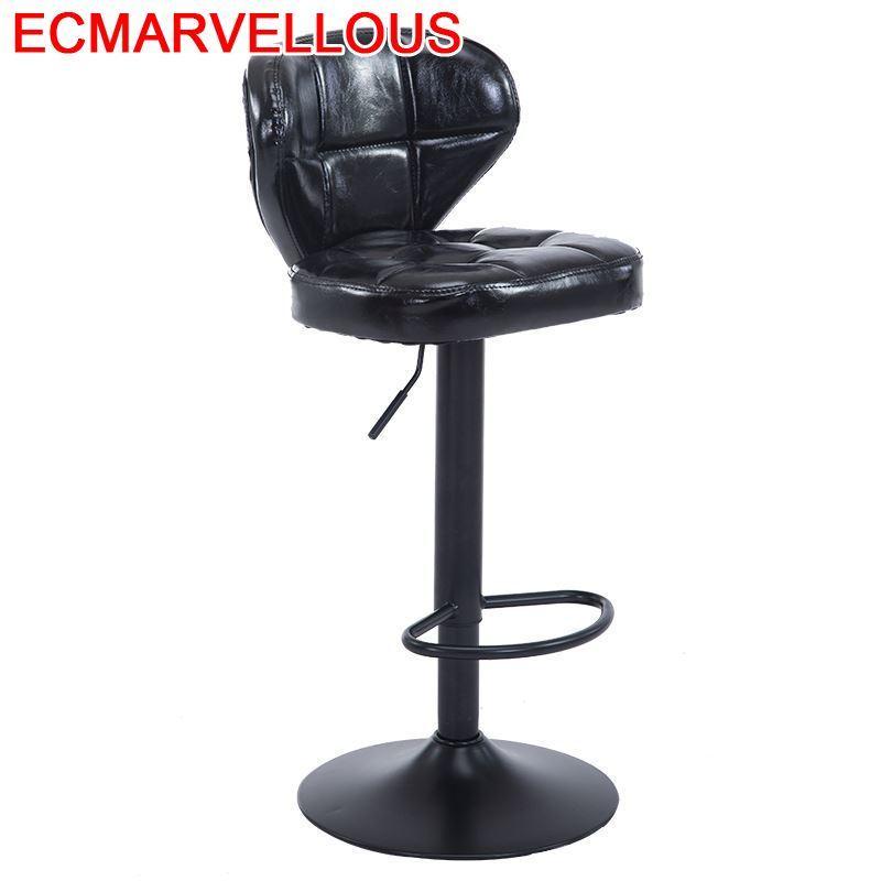 Barra Table Fauteuil Cadir Sandalyeler Sedie Ikayaa Silla Taburete Leather Stool Modern Cadeira Tabouret De Moderne Bar Chair
