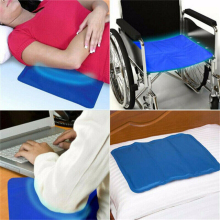Pillow Cooling-Gel Sleeping-Aid Travel Office Comfort Pad Bed-Mat Chilled Natural
