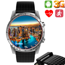 цена на Arvin Android 3G Smart Watch KW99 Pro Android 5.1 MTK6580 Bluetooth 3G WIFI GPS Watch Phone 8GB Heart Rate Monitoring Smartwatch