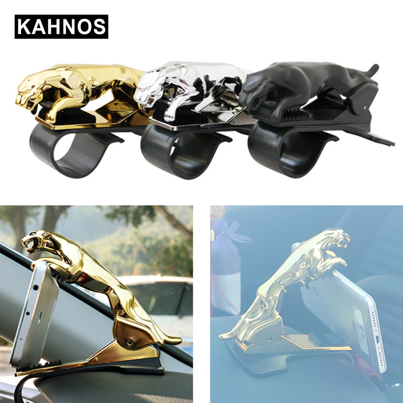 Leopard Car Phone Holder Mobile Phone Supportor Adjustbable Car Phone Stand Cell Phone Bracket Car GPS Holder Car Accessories