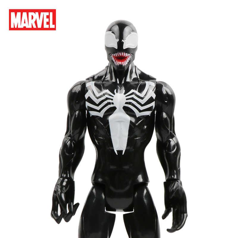 """30 ซม./12 """"VENOM ของเล่นรุ่น Marvel Avengers Spider Man Action FIGURE PVC ของขวัญสะสมสำหรับเด็กและสาววันเกิด"""