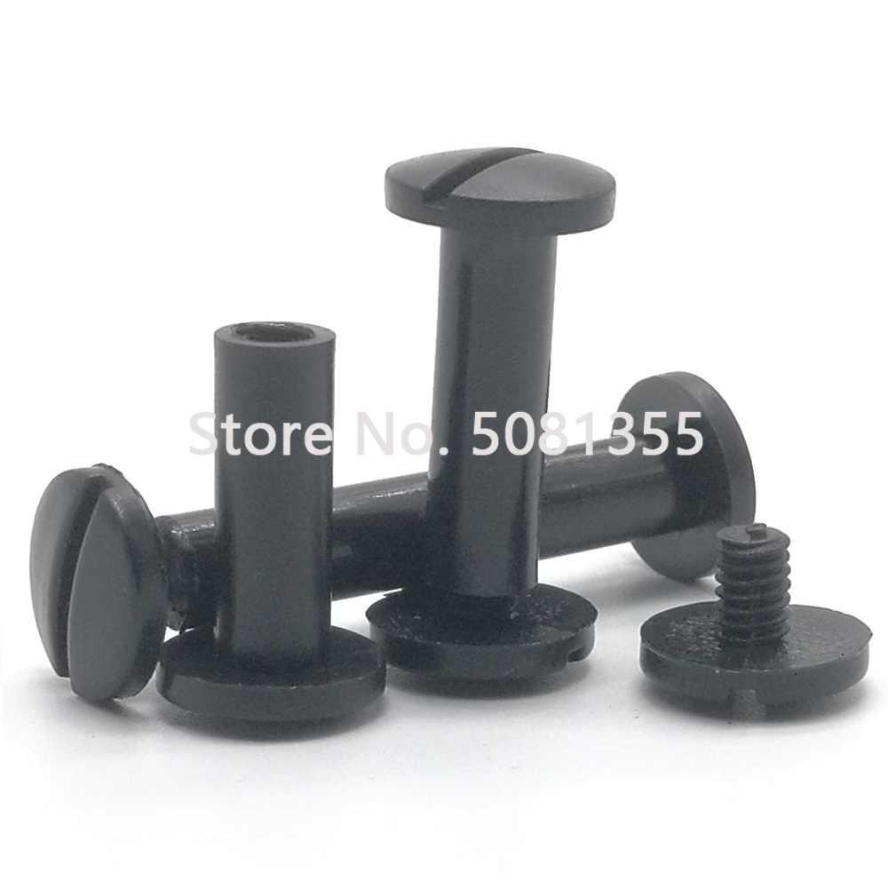 10 x Clips Pl/ástico Tornillo N/úmero Placa de montaje Insertar // Grommet- Para encajar un agujero de 8x8mm Grapas remache pl/ástico