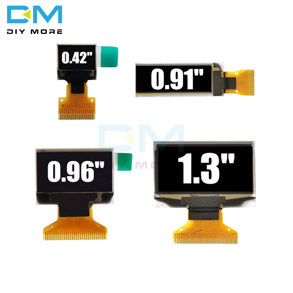 LCD OLED Display 0.42 0.91 0.96 1.3 Inch Blue White LCD Screen Display Module 0.42'' 0.91'' 0.96'' 1.3'' OLED Module For Arduino