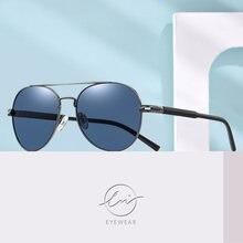 Lm модные поляризационные солнцезащитные очки авиаторы для мужчин