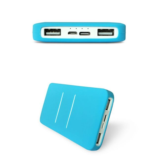 Silicone Protector Case Cover Skin Sleeve Bag for New Xiao Mi 2 10000/20000mAh Dual USB Power Bank Powerbank Accessory 2
