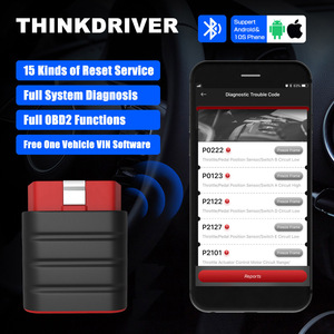 Image 2 - Thinkdriver Automatic OBD2 Scanner Full System Car Diagnostic Tools DPF ABS SAS Reset Code Reader OBD Tester For Cars